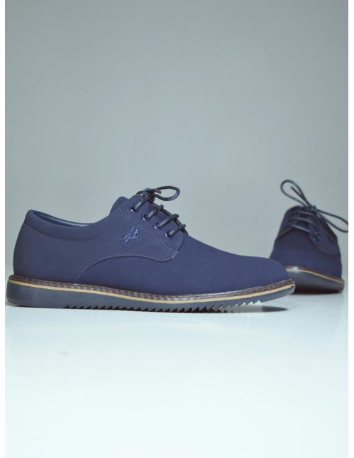 Zapato casual azul