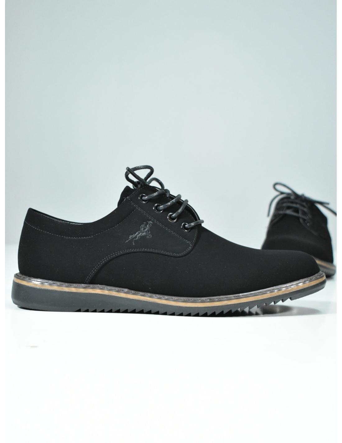 Zapato casual negro