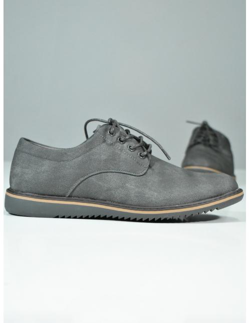 Zapato oxford gris