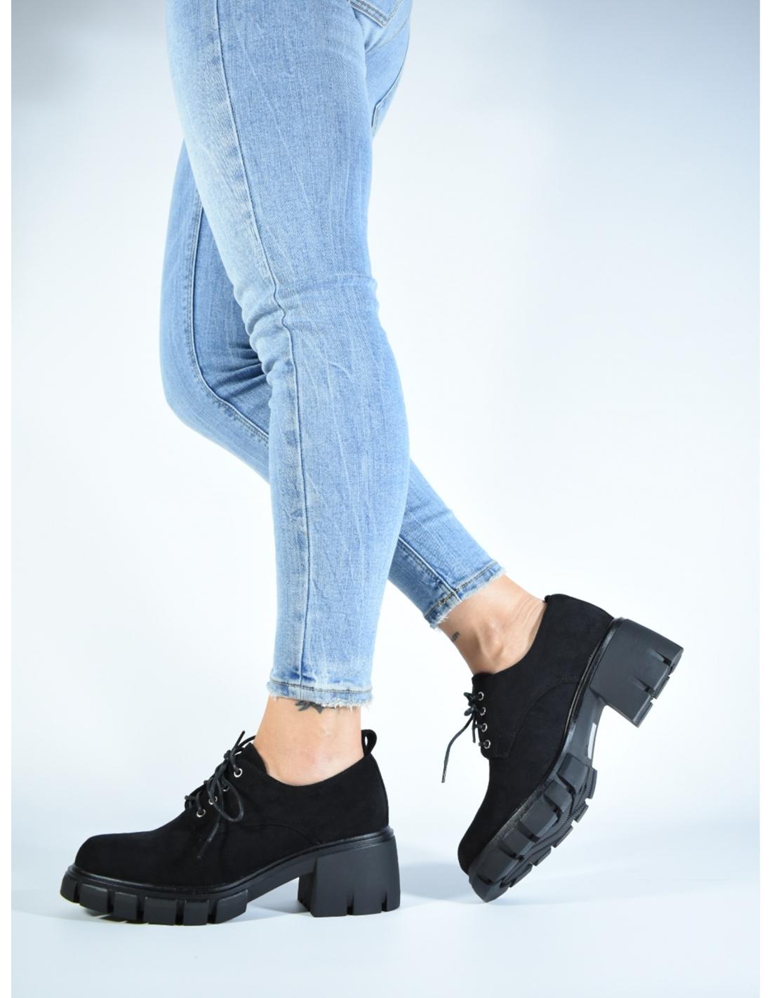 Zapato praga negro