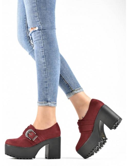Zapato Rene burdeos